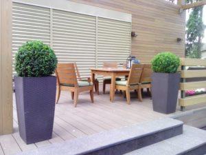 лесной участок средний участок современный сад самшиты садовая мебель лечуза клуб 2071